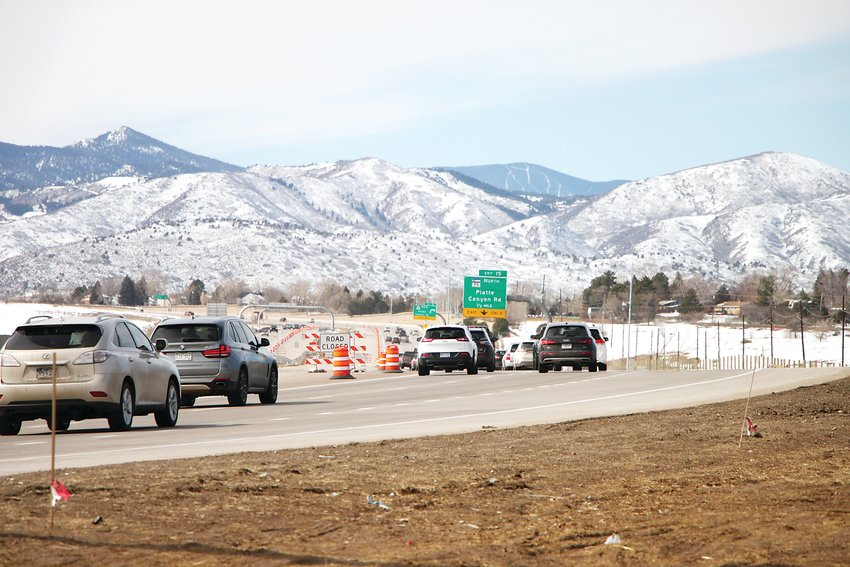 The C-470 Express Lanes project is slated to be completed this summer -- a year behind schedule.