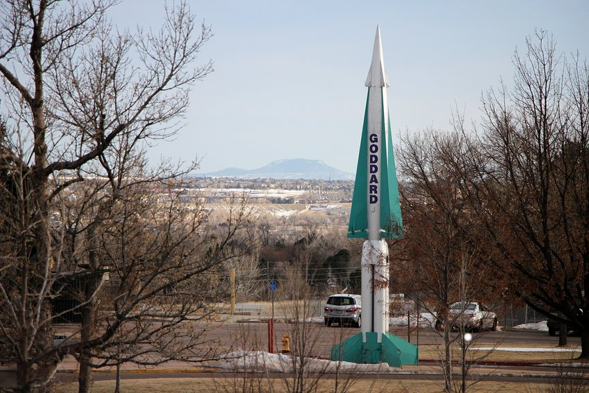 Littleton old-timers are seeking a new home for Goddard Middle School's old Nike Hercules missile, which has stood outside the school since 1968.