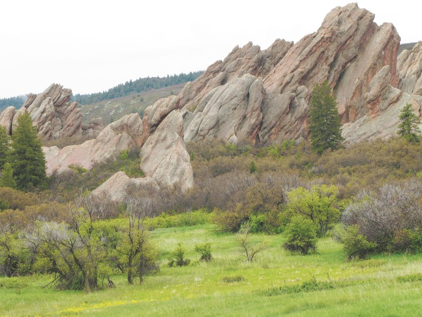 Roxborough State Park boasts distinctive geological formations.