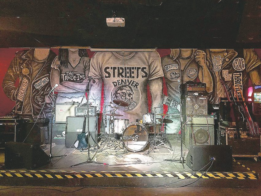 Stage at Streets Denver.