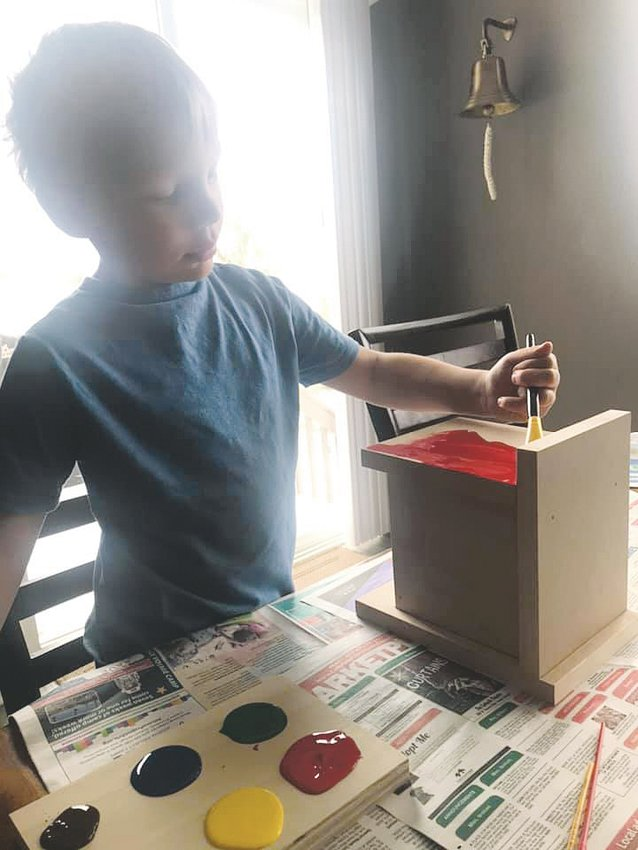 Castle Rock Woodworks wanted to create hands-on projects for children to pass the time during the COVID-19 pandemic. The projects have been provided to families, senior homes, nursing facilities and teachers.