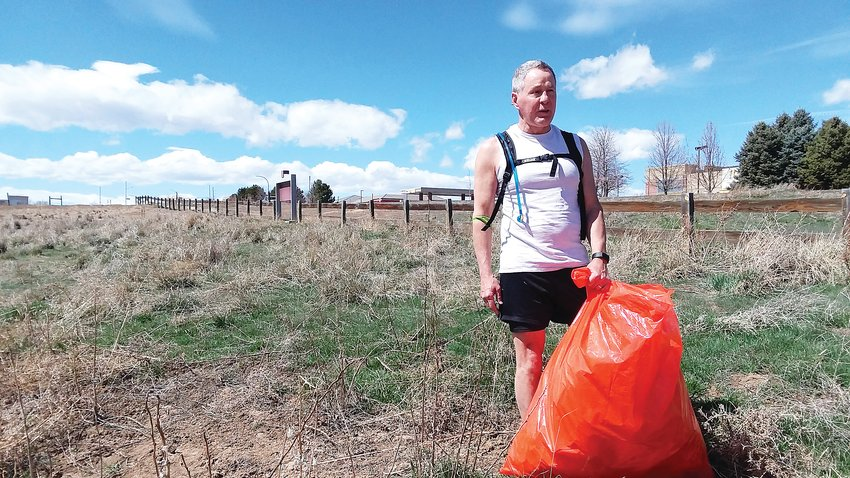 "Westminster Trails and Open Space volunteer Thom Mandl said March 31 that since a Community cleanup day, tentatively set for April 25, is in question he'd use his time in quarantine cleaning up the Big Dry Creek Trail where it comes near his house. ""For the last couple of weeks, I just come out and spend an hour or a full bag -- whichever comes first,"" Mandl said. ""My kids and I use the trail a lot. We bike here, I hike here all the time. It's a wonderful resource so it's a little something I can do."""