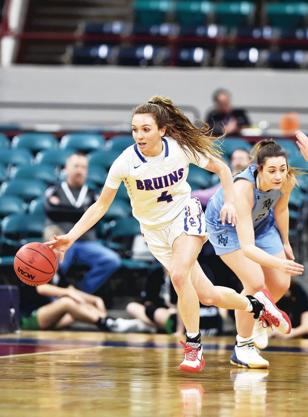 Senior Jana Van Gytenbeek, of Cherry Creek, is the Colorado Community Media South Metro Girls Basketball Player of the Year.