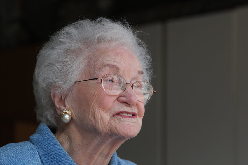 Evelyn Berkey said she did not expect to reach 100 years old but was grateful the life she's led so far.