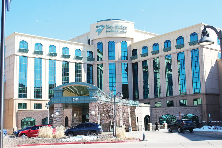 Sky Ridge Medical Center, as of April 23, was treating 100 patients for COVID-19, about a third of the hospital's 284-bed capacity.