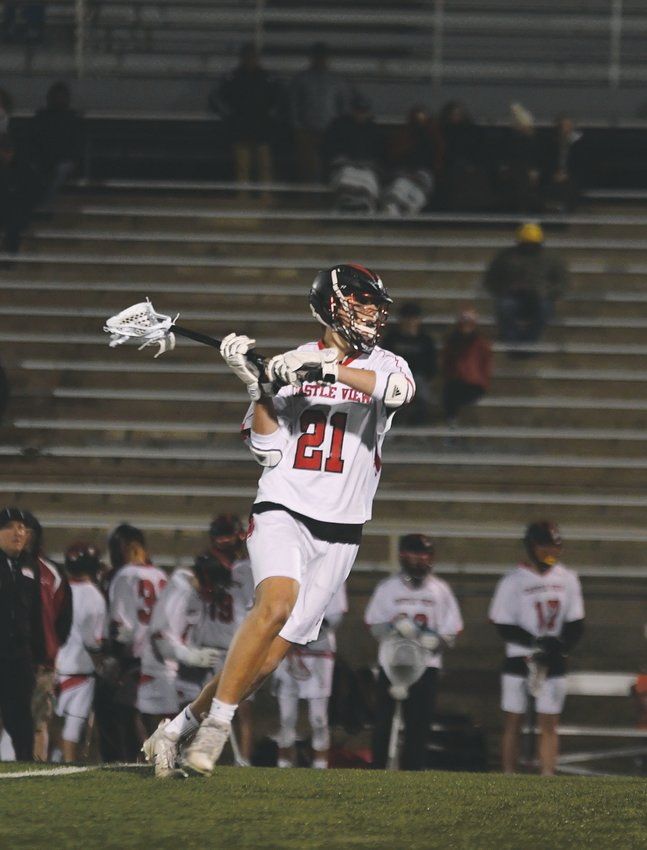 Jack Tuttle is a senior lacrosse player at Castle View High School.