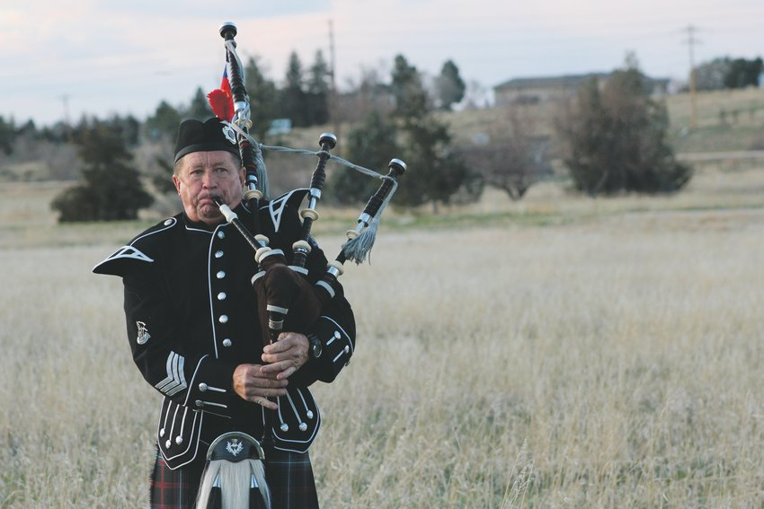 The Colorado Emerald Society Pipe and Drum Band, which includes 75 first responders throughout Colorado, began playing bagpipes at sunset every night as part of an international movement. Locally, it's called Pipers for Sundown Solidarity.