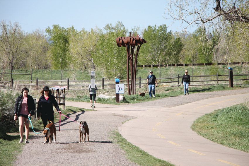 South Platte Park has been seeing as many visitors as a busy holiday weekend in the height of summer, said park manager Skot Latona.