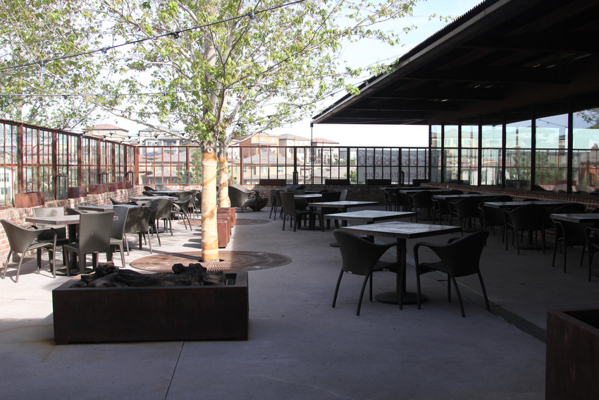 Sierra offers views of the surroudning area and expansive patio seating. Ownership hopes Douglas County can get a variance to reopen restaurants for dine-in service this month.