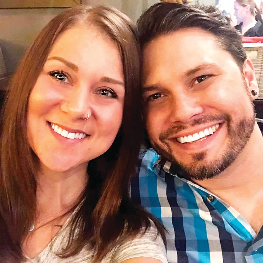 Ashley Leising, left, and husband Matt Leising. The south Jefferson County residents live in the Ken Caryl area.