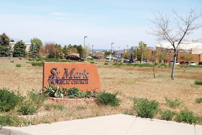 St. Mark's Catholic Church in Highlands Ranch hosted four limited, in-person services the weekend of May 16 after the Diocese of Colorado Springs allowed services to resume.