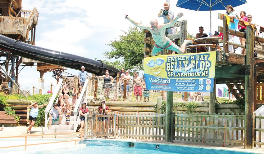 There won't be any scenes like this one at Hyland Hills Water World this summer as the water park operators have decided to stay closed due to COVID-19 concerns.