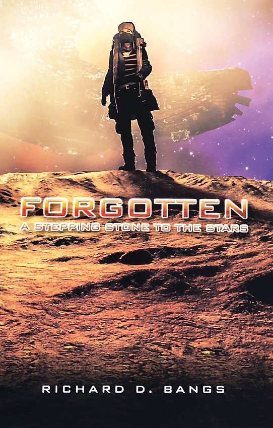 """Forgotten"" is from a science fiction trilogy recently published by local author/journalist Rich Bangs."