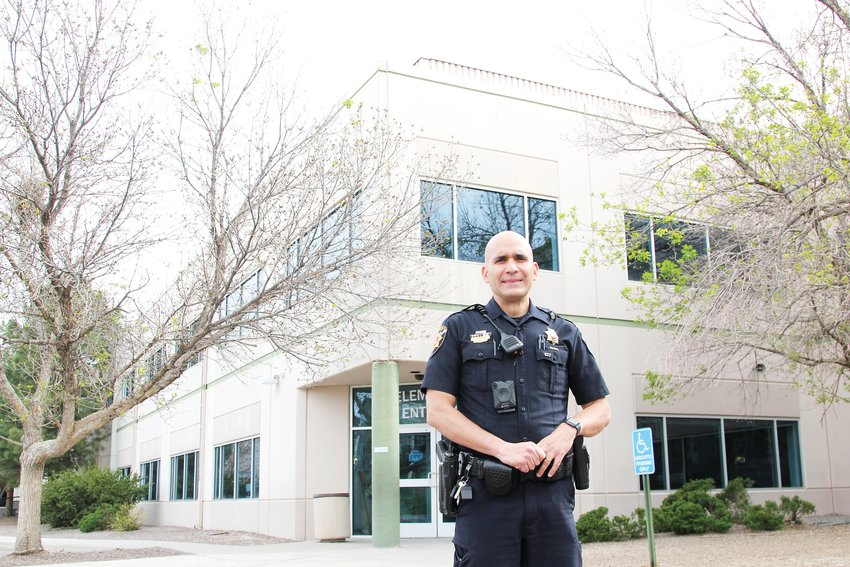 Deputy Jose Uribe serves as the STEM School Highlands Ranch school resource officer.