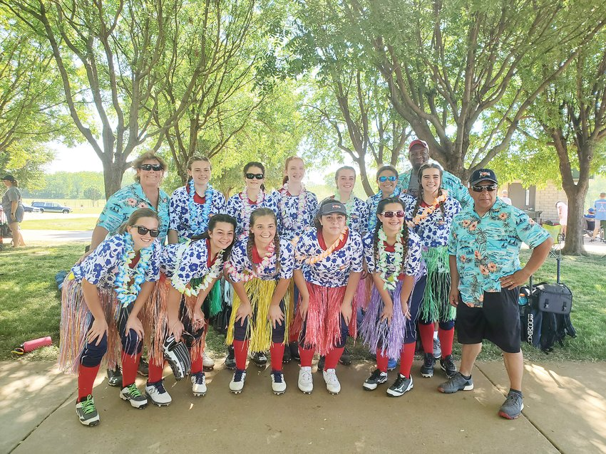 The Colorado Cougars softball team played in the Hawaiian Hitfest softball tournament on June 5-7 in Wichita, Kansas.