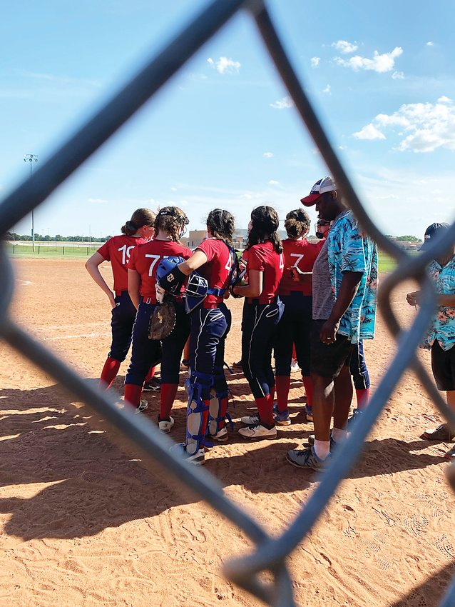 The Colorado Cougars softball team played in the Hawaiian Hitfest softball tournament on June 5-7 in Wichita, Kan.