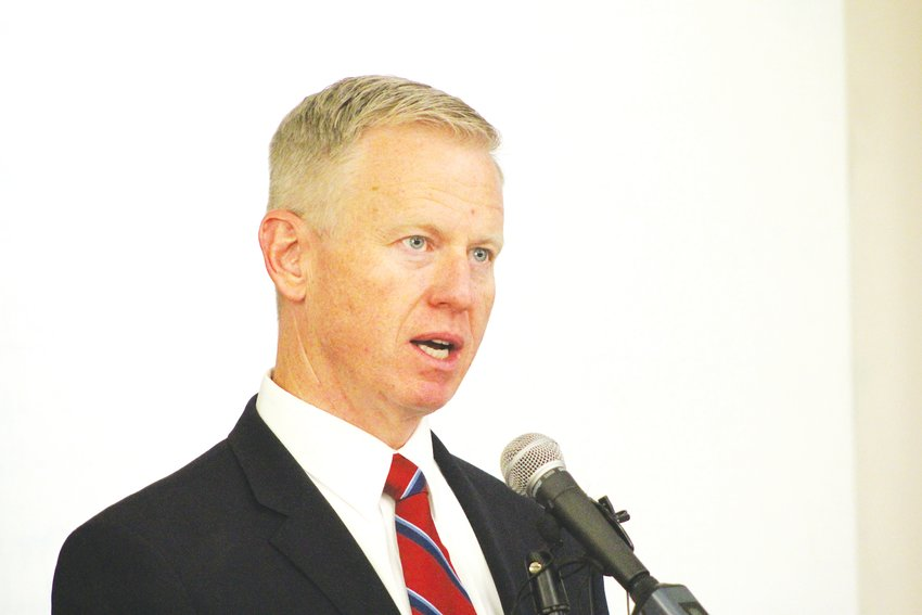 District Attorney George Brauchler in a 2019 file photo.