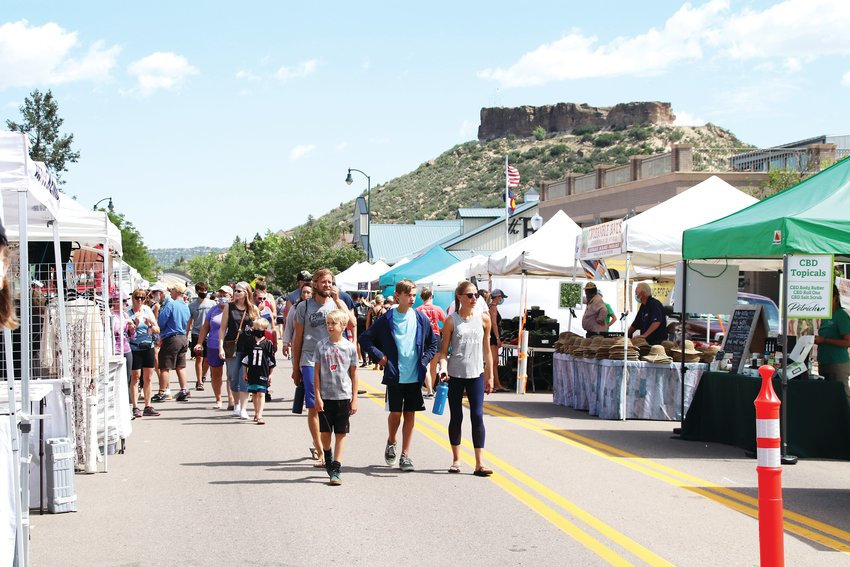 The Farmers' Market at Festival Park is up and running in Castle Rock with social distancing measures in place.