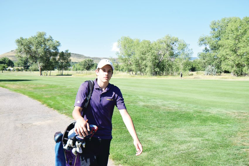 Littleton golfer Emmett Loomis was the team's best golfer last season as a soph0more and coach Kevin Burdick expects Loomis to be the team's ace again this season if the golf season starts as scheduled.
