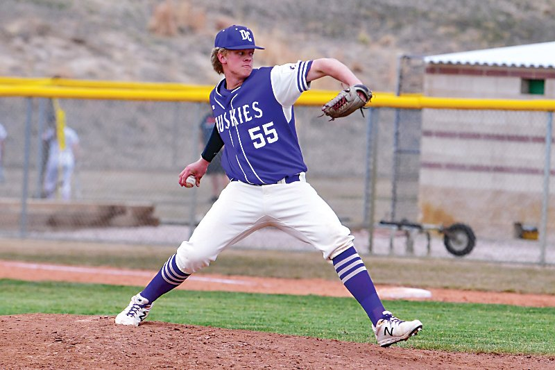 Douglas County High School pitcher Case Williams, who was drafted in the fourth round and 110th overall by the Colorado Rockies.