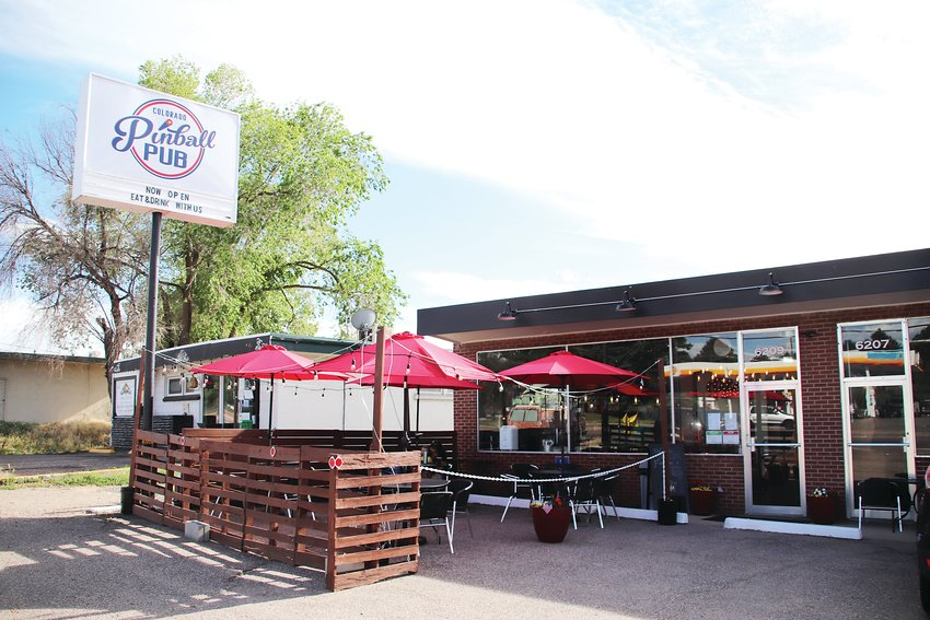 Colorado Pinball Pub is at 6209 South Santa Fe Drive, just south of the entrance to The Hudson Gardens.