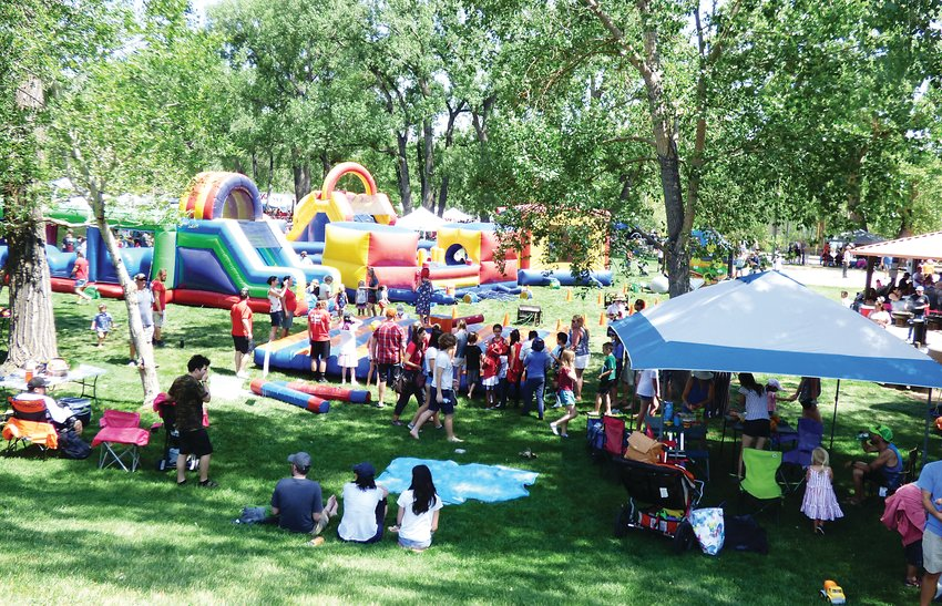 Lions Park in Golden was filled with people to celebrate Independence Day at the Golden Lions Club's 48th annual Fourth of July Celebration last year.