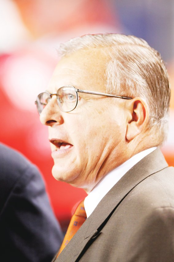 Jim Saccomano served as the vice president of public relations for the Denver Broncos for 36 years before retiring in 2013.
