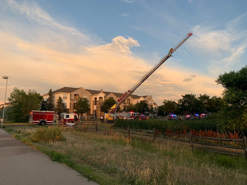 South Metro and Aurora fire crews extinguished a July 4 fire in thick vegetation behind 7171 Cherokee Trail in Arapahoe County. No structures were damaged and no injuries occurred. Neighbors reported seeing an adult playing with fireworks in the area before the fire started.