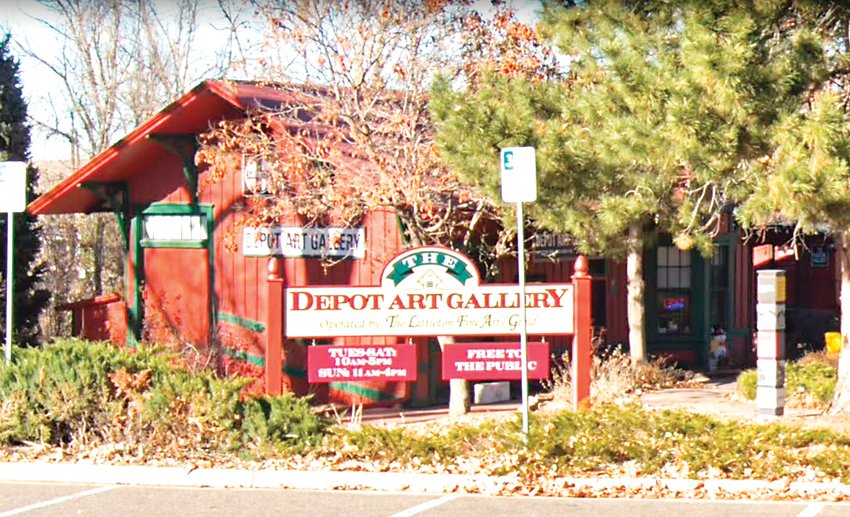 The Depot Art Gallery in Littleton.