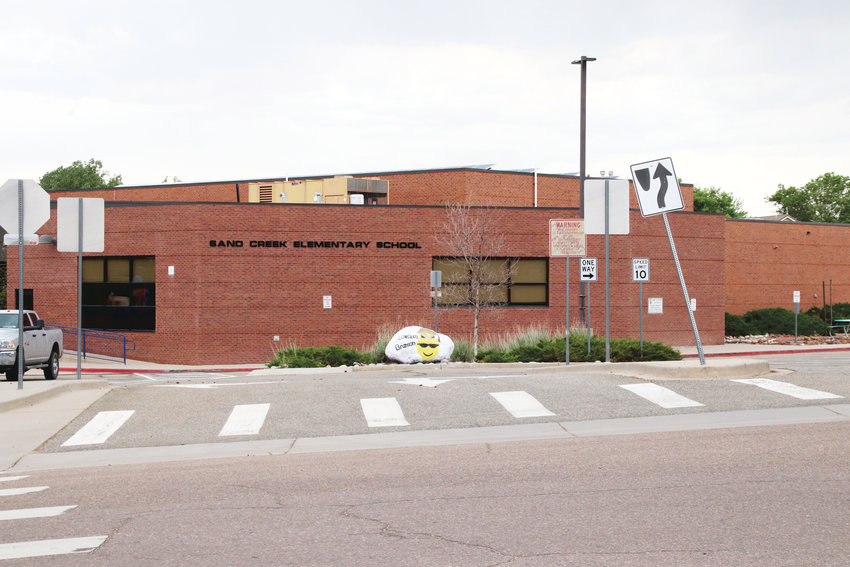 Sand Creek Elementary School in Highlands Ranch.