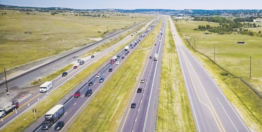 The Colorado Department of Transportation is widening what's called the Gap, a stretch of Interstate 25 between Castle Rock and Monument, after a study found the area in urgent need of improvements.
