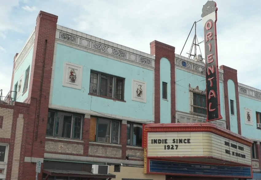 The Oriental Theater at 44th and Tennyson streets is the new temporary home of City Park Jazz.