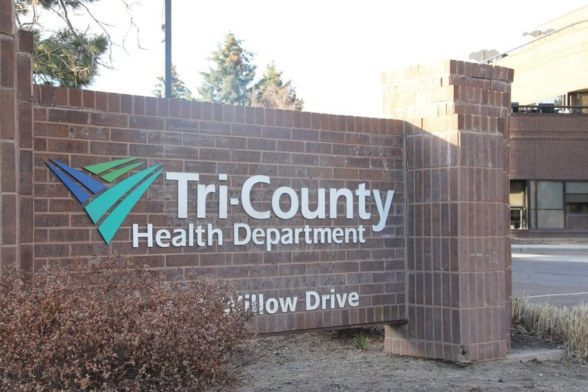 Outside Tri-County Health Department's administrative office at 6162 S. Willow Drive in Greenwood Village. The agency serves more than 1.5 million people in Adams, Arapahoe and Douglas counties.