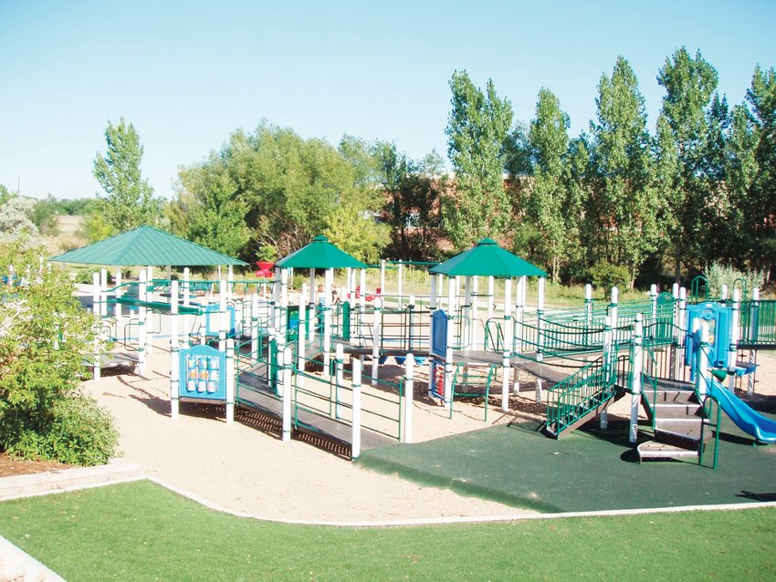 Sensory Park in Westminster at 7577 W. 103rd Ave. offers a playground that is Americans with Disabilities Act-compliant and therapy-focused, according to the city.