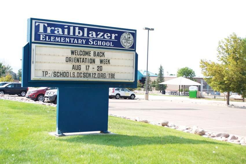Students returned to Trailblazer Elementary in Highlands Ranch for their orientation week beginning Aug. 17.