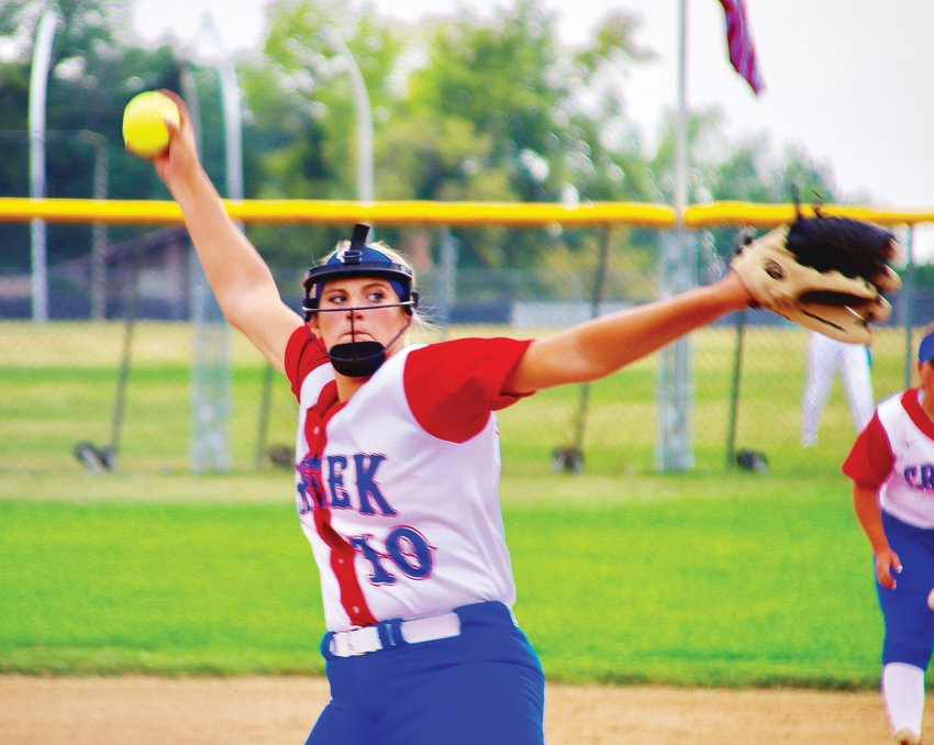Cherry Creek senior pitcher Alex Grutich allowed four hits in a 7-0 shutout over Arapahoe on Aug. 24.