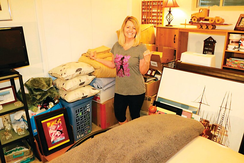 Littleton resident Kathy Powers started a chapter of the Buy Nothing Project to bring her neighborhood together.