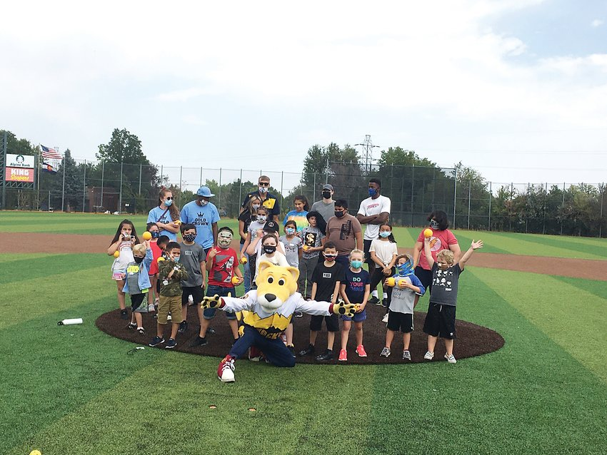 Denver Nuggets mascot Rocky recently visited Gold Crown's Remote Learning and Activities program on Aug. 31.