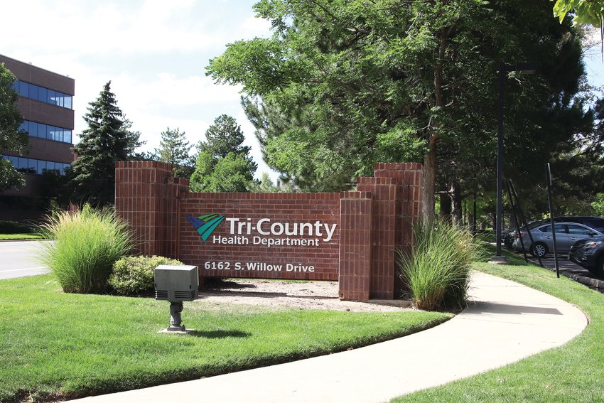 Tri-County Health Department serves Adams, Arapahoe and Douglas counties.