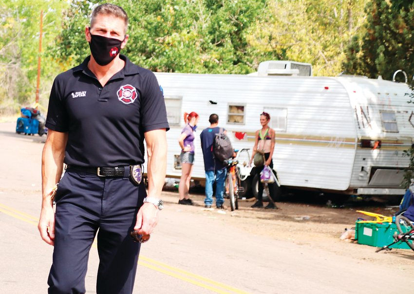 Denver Fire Captain Greg Pixley called the homeless camp sweep heartbreaking but necessary.