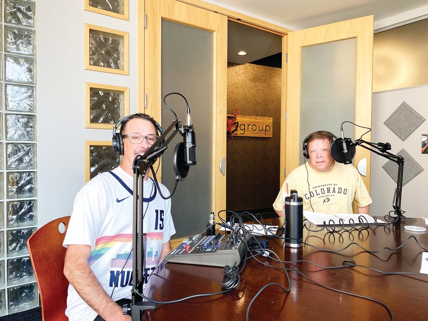 "Klint Rudloph, left, and Paul Dwyer are both hosts of a new podcast called ""Dance Dads,"" set to launch soon."