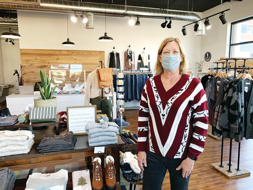 Jayne Tien co-owns Mod Mountain Boutique.