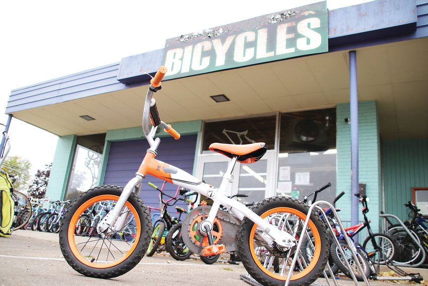Lucky Bikes Re-Cyclery is one of numerous nonprofit community bike shops in the Denver area that provide low- or no-cost bikes to underprivileged youths.