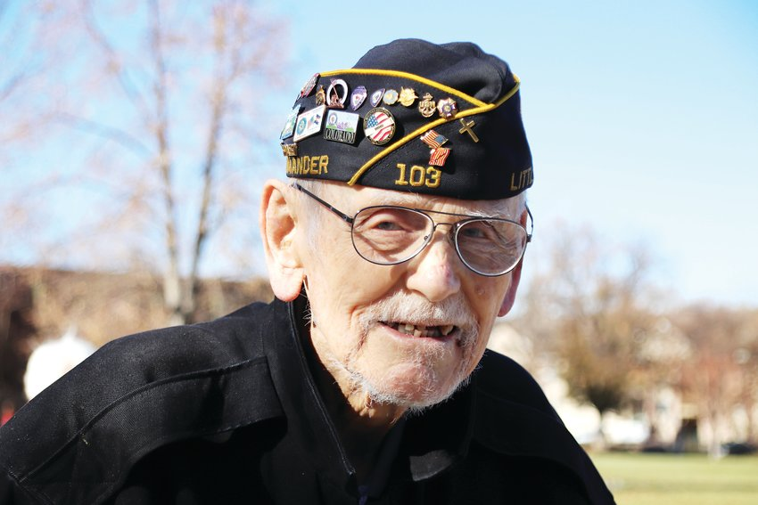 Charles Goodwin is 97, but his memories of his World War II service are still crystal clear.