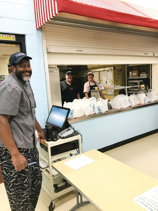 A previous Jeffco Public Schools Grab and Go site from this spring. With the return of remote learning for most district students, the Grab and Go program is again expanding.