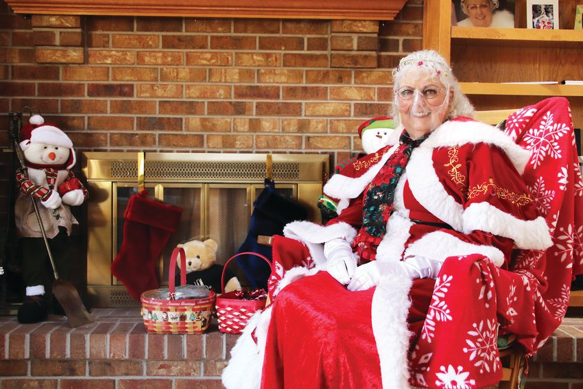 Kam Breitenbach is well-known around Parker for her portrayal of Mrs. Claus. Breitenbach's Mrs. Claus can be sighted year-round in Parker at various charity events and fundraisers. A dedicated Rotarian and community servant, Breitenbach feels it is more important now than ever to give kids a taste of Christmas.