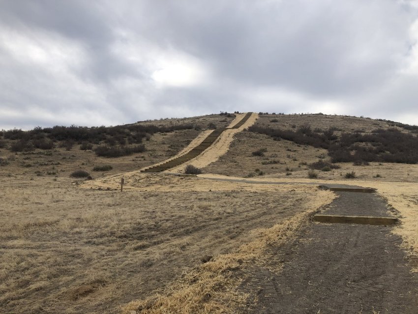 The Rueter-Hess hiking incline is open to the public Nov. 26.