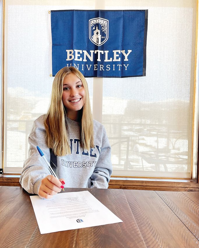Golden High School senior Maci Jones was one of six Demons who signed their National Letter of Intent on Nov. 11. Jones will play soccer at Bentley University in Massachusetts.