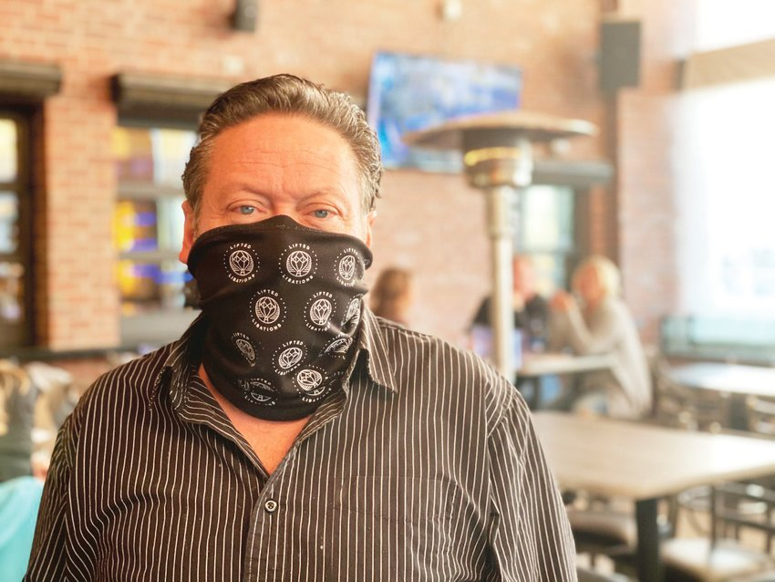 Dale Trujillo, owner of the Blu Note Bar & Grill and the soon-to-open Wild Goose Saloon, both in Parker, sees restrictions on indoor dining caused by the pandemic as an opportunity to improve upon other aspects of his businesses.