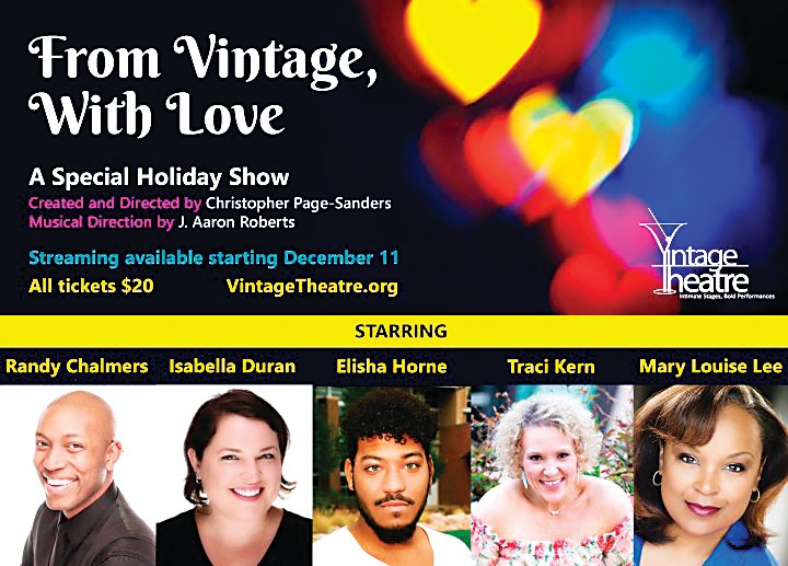 """From Vintage, With Love"" is a holiday show available via streaming by going to VintageTheatre.org."